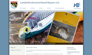 Landesfischereiverband Bayer e.V. Website