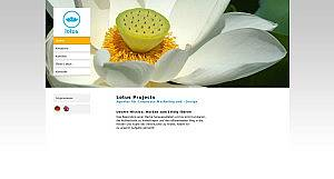 lotus projects Website