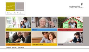 GEWOFAG Holding GmbH Website